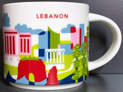 Starbucks You Are Here Lebanon mug