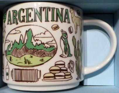 Starbucks Been There Argentina mug