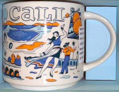 Starbucks Been There Cali mug