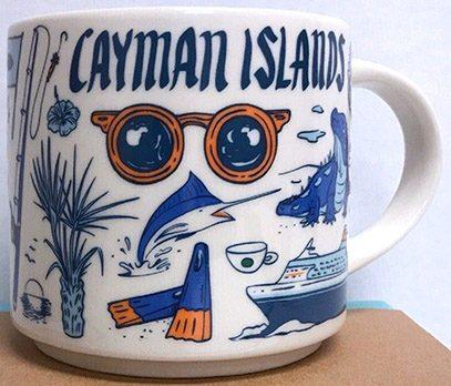 Starbucks Been There Cayman Islands mug