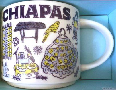 Starbucks Been There Chiapas mug