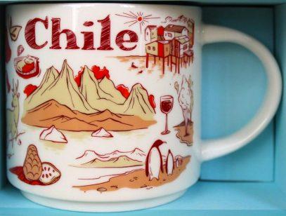 Starbucks Been There Chile mug