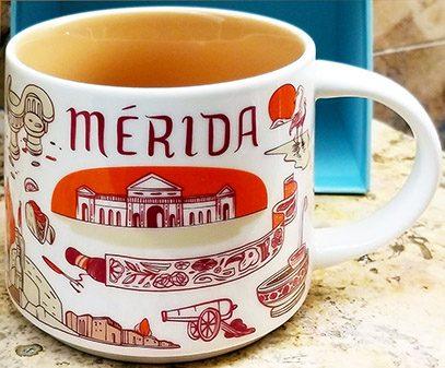 Starbucks Been There Merida mug