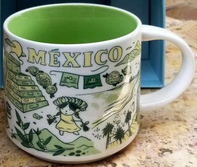Starbucks Been There México mug