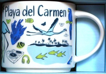 Starbucks Been There Playa del Carmen mug