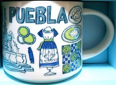Starbucks Been There Puebla mug