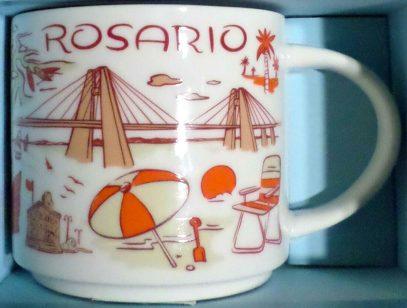 Starbucks Been There Rosario mug