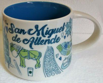 Starbucks Been There San Miguel de Allende mug