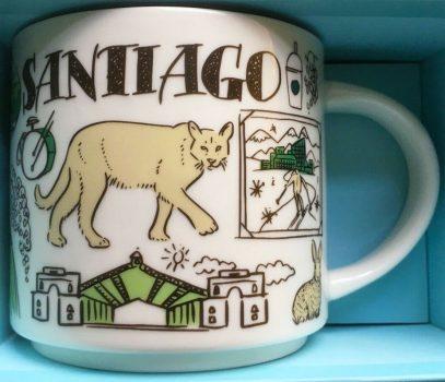 Starbucks Been There Santiago mug