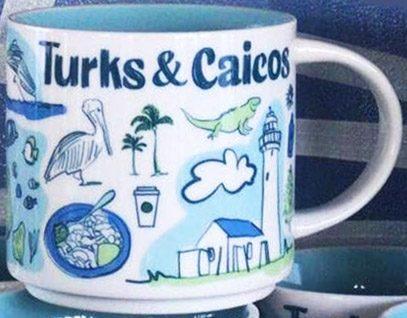 Starbucks Been There Turks & Caicos mug