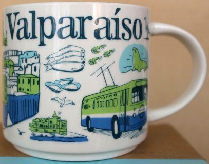 Starbucks Been There Valparaiso mug