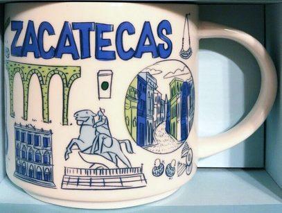Starbucks Been There Zacatecas mug