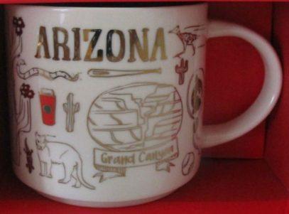 Starbucks Been There Christmas Arizona mug