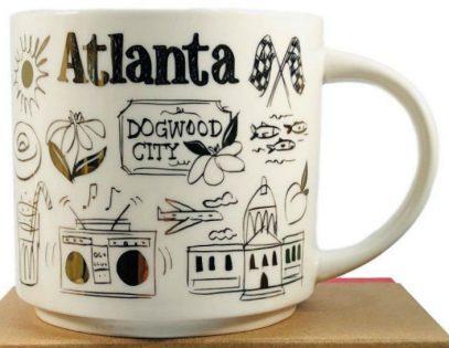 Starbucks Been There Christmas Atlanta mug