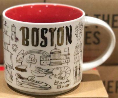 Starbucks Been There Christmas Boston mug