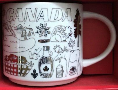 Starbucks Been There Christmas Canada mug
