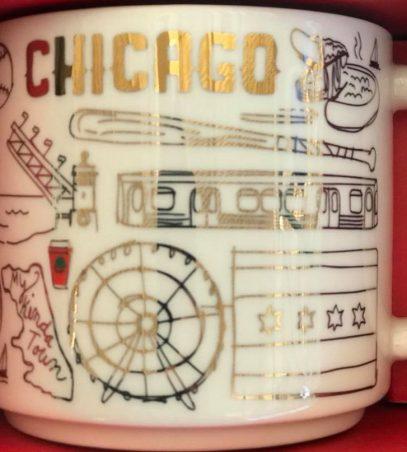 Starbucks Been There Christmas Chicago mug