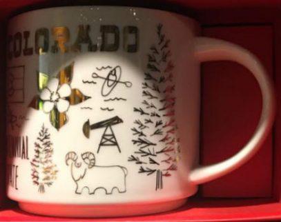 Starbucks Been There Christmas Colorado mug