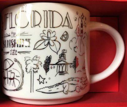 Starbucks Been There Christmas Florida mug