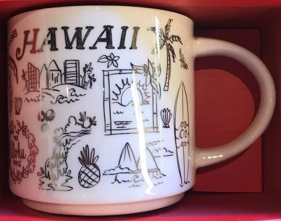 Hawaii Starbucks Mugs