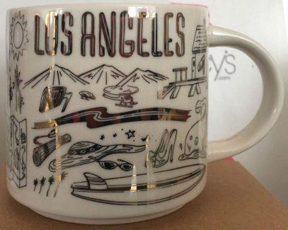 Starbucks Been There Christmas Los Angeles mug