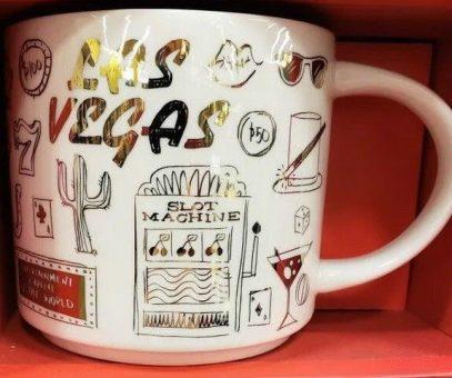 Starbucks Been There Christmas Las Vegas mug