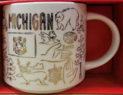 Starbucks Been There Christmas Michigan mug