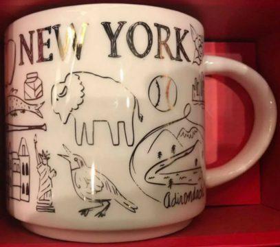 Starbucks Been There Christmas New York mug