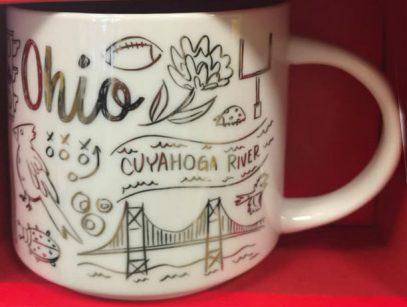 Starbucks Been There Christmas Ohio mug