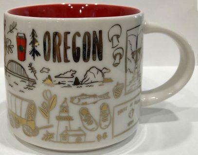 Starbucks Been There Christmas Oregon mug