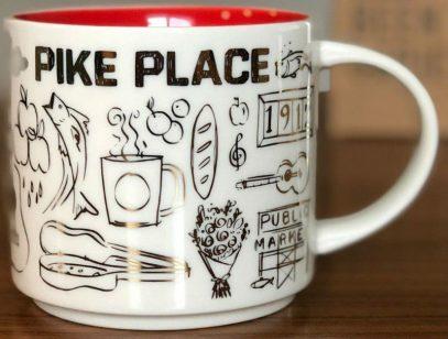 Starbucks Been There Christmas Pike Place mug