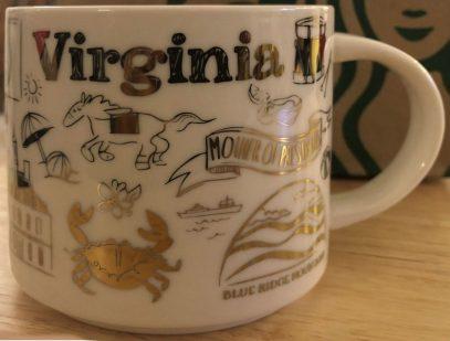Starbucks Been There Christmas Virginia mug