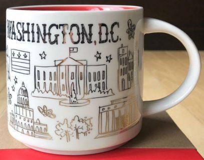 Starbucks Been There Christmas Washington, D.C. mug