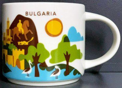 BULGARIA STARBUCKS City Mug NEU SKU YOU ARE HERE YAH Tasse Sofia Bulgarien