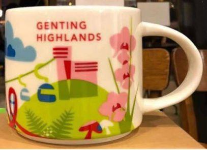 Starbucks You Are Here Genting Highlands mug
