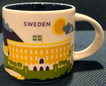 Starbucks You Are Here Sweden mug