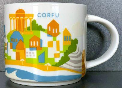 Starbucks You Are Here Corfu mug