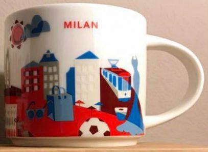 Starbucks You Are Here Milan mug