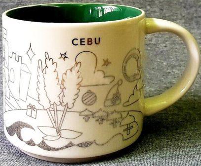 Starbucks You Are Here Christmas Cebu 2 mug