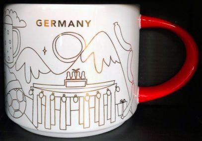 Starbucks You Are Here Christmas Germany mug
