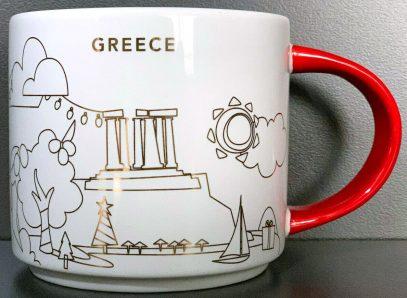 Starbucks You Are Here Christmas Greece mug