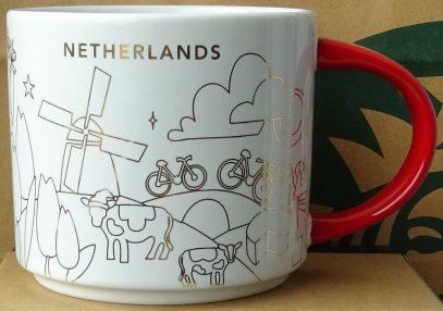 Starbucks You Are Here Christmas Netherlands mug