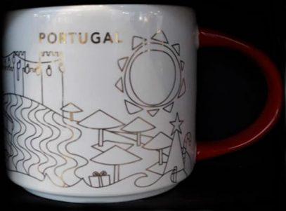 Starbucks You Are Here Christmas Portugal mug