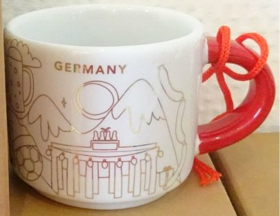 Starbucks You Are Here Ornament Christmas Germany mug