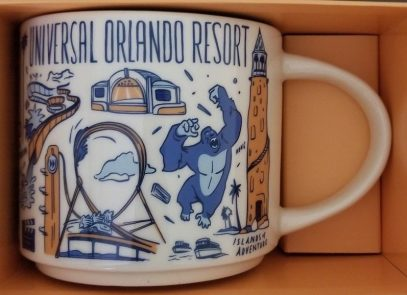 Starbucks Been There Universal Orlando Resort mug