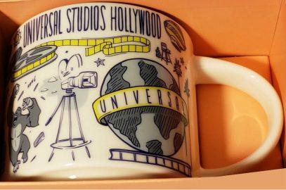 Starbucks Been There Universal Studios Hollywood mug