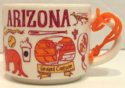 Starbucks Been There Ornament Arizona 2 mug