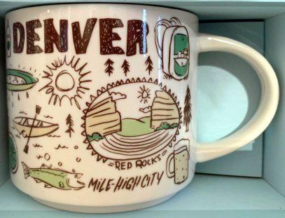 Starbucks Been There Denver 2 mug