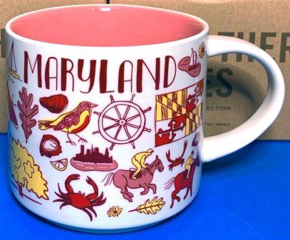 Starbucks Been There Maryland 2 mug