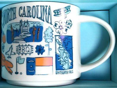 Starbucks Been There North Carolina 2 mug